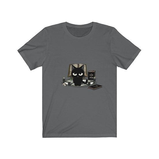 "Gothic Graffiti™  ""Kitty Magic"" Unisex Short Sleeve Tee"