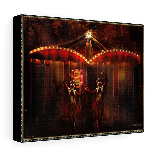 "Gothic Graffiti™ ""Carnivale du Macabre: The Big Top"" on Canvas"