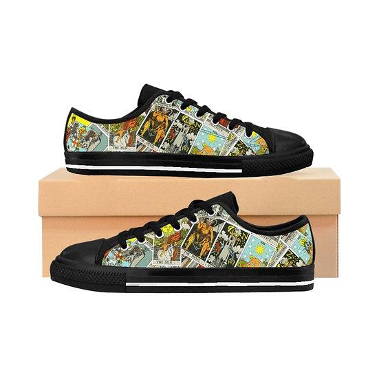 "Gothic Graffiti™ ""Major Arcana"" Men's Sneakers"