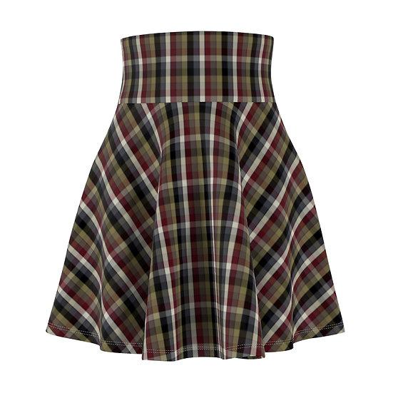 """""""Emily's Plaid"""" Skater Skirt"""