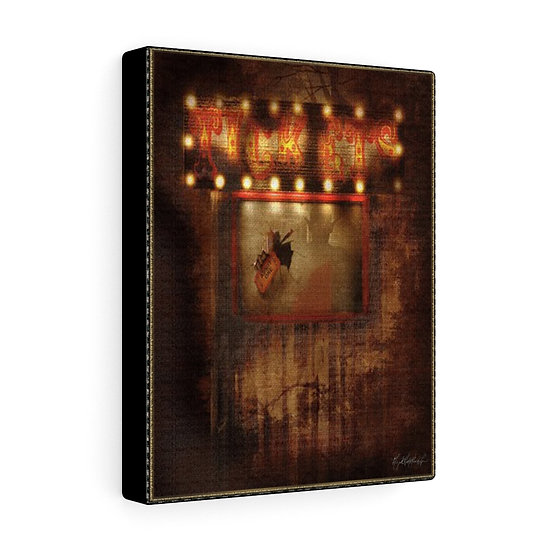 """Gothic Graffiti™ """"Carnivale du Macabre: The Ticket Booth"""" on Canvas"""