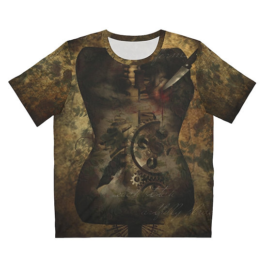 """""""In Divine Revelation of Her Form"""" Unisex Art T-Shirt"""