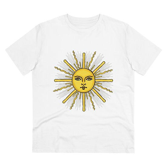 """Gothic Graffiti™ """"The Sun"""" Regular Organic T-shirt - Unisex"""