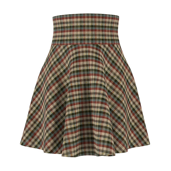 """Fortune Teller Plaid"" Skirt"