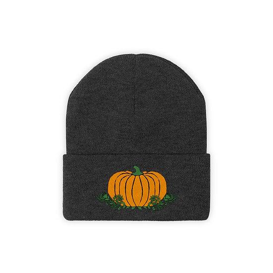 """Gothic Graffiti™ """"Great Pumpkin"""" Knit Beanie"""