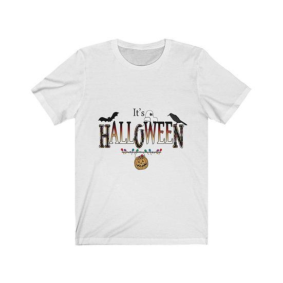 "Gothic Graffiti™ ""It's Halloween HON"" Unisex Jersey Short Sleeve Tee"