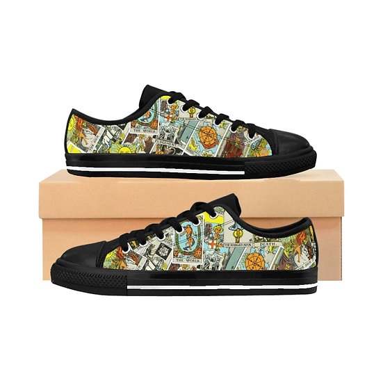 "Gothic Graffiti™ ""Major Arcana"" Women's Sneakers"