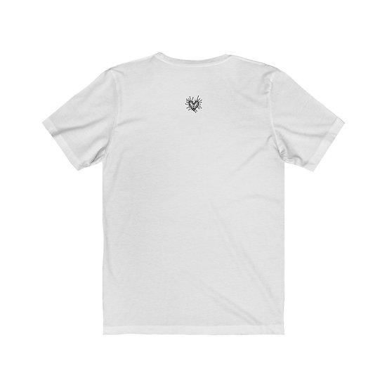 "Gothic Graffiti™ ""Memento Mori"" Hourglass Unisex T-shirt"