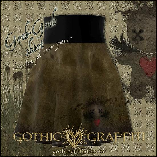 Gothic Graffiti™ Grub-Grub Skirt