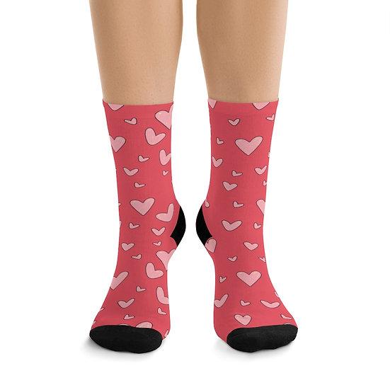 "Gothic Graffiti™ ""Valentine"" Socks"