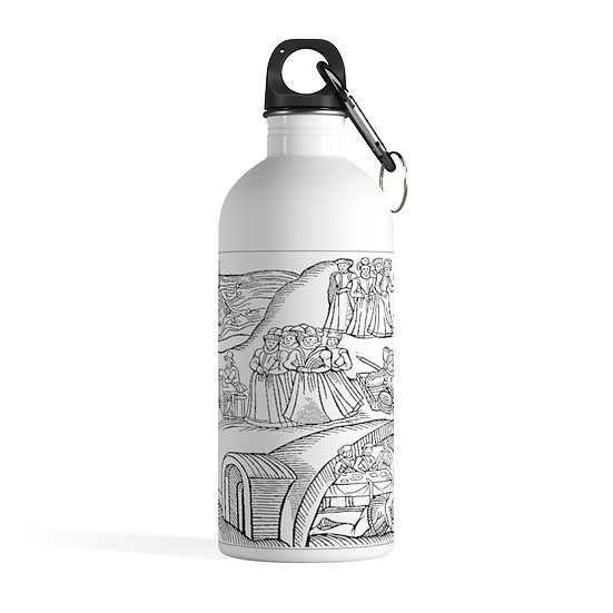 """""""The Testimony of Geillis Duncan"""" 1591 Stainless Steel Water Bottle"""