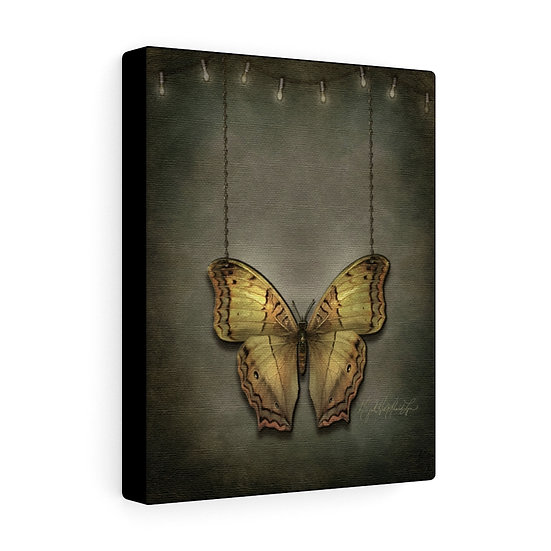 """Gothic Graffiti™ """"Butterfly"""" 8x10 Canvas"""