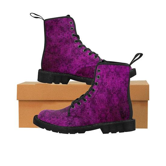 Gothic Graffiti™ Nightshade Men's Canvas Boots