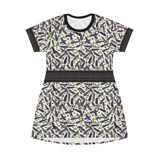 Gothic Graffiti™ Fresh Lavender Dress