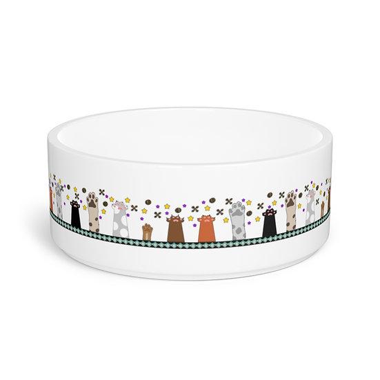 """Reach for the Stars"" Ceramic Pet Bowl"
