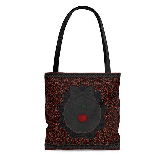 """Gothic Graffiti™ """"Cherries"""" Tote Bag"""