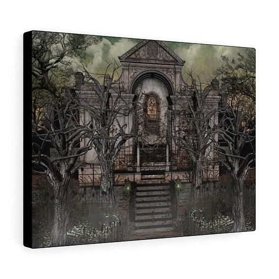 "Gothic Graffiti™ ""Tomb of Strange Aeons"" on Canvas"
