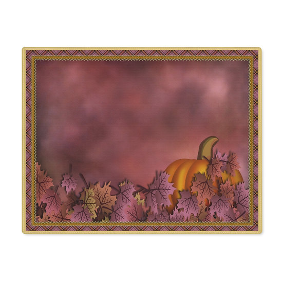 "Gothic Graffiti™ ""Early Autumn Morning"" Placemat"