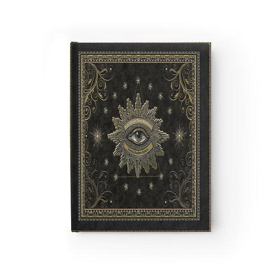 Gothic graffiti™ V.I.T.R.I.O.L. Lined Page Journal