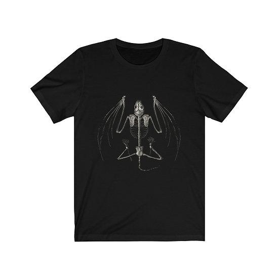 """Gothic Graffiti™ """"Memento Mori"""" Bat Unisex T-shirt"""
