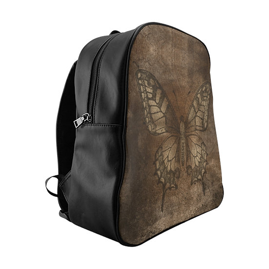 Gothic Graffiti™ Grunge Butterfly Backpack