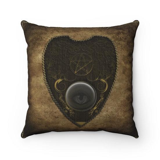 Gothic Graffiti™ Antiqued Planchette Square Pillow