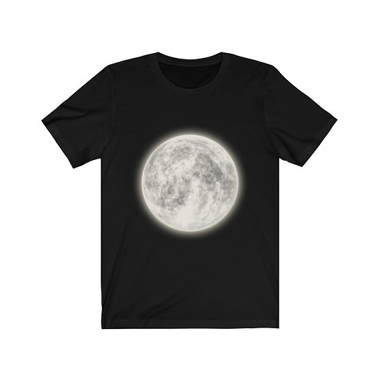 "Gothic Graffiti™ ""Full Moon"" Unisex Jersey Short Sleeve Tee"