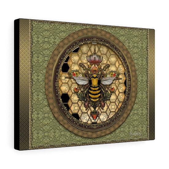 "Gothic Graffiti ™ ""Honeybee Hex"" Canvas Gallery Wraps"
