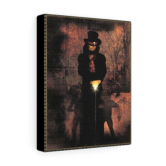 "Gothic Graffiti™ ""Carnivale du Macabre: The Tall Man"" on Canvas"