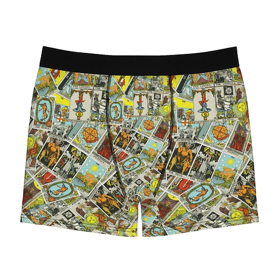 Gothic Graffiti™ Men's Major Arcana Tarot Boxer Briefs