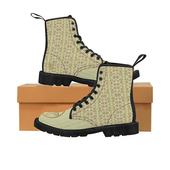 "Gothic Graffiti™ ""Bridget"" Women's Canvas Boots"