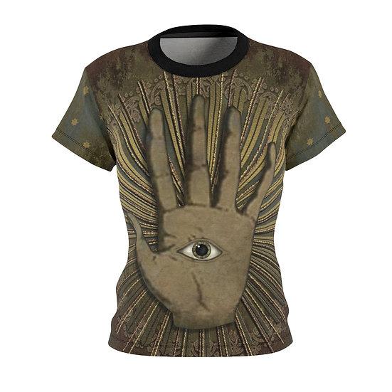 """""""Fortune Teller-Eye See All"""" Women's Art Tee"""