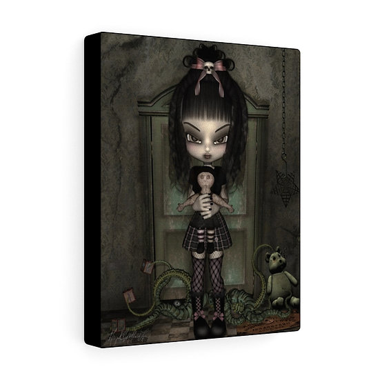 "Gothic Graffiti™ ""Toy Room"" on 8x10 Canvas"