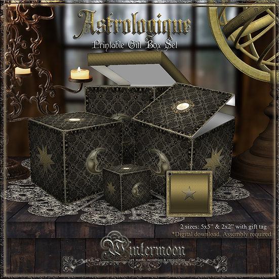 Astrologique Printable Gift Box Set