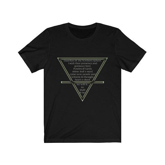 "Gothic Graffiti™ ""Evocation of Earth"" Unisex Short Sleeve T-Shirt"