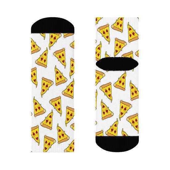 "Gothic Graffiti™ ""Pizza Slice"" Ankle Socks"