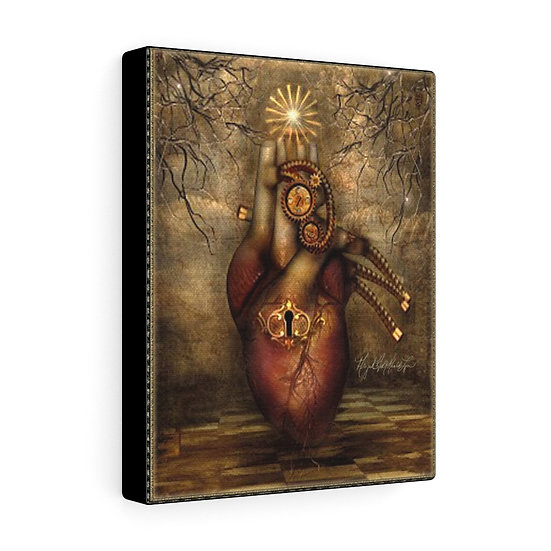 "Gothic Graffiti™ ""Mechanical Heart"" on Canvas"