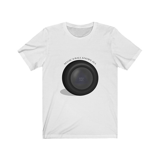 Gothic Graffiti™ Magic 8-Ball Unisex Tee