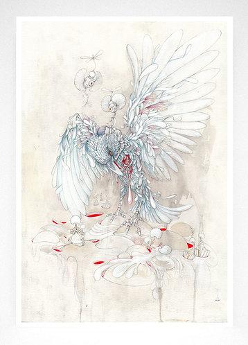 Fine Art Print 'Romantic Love'