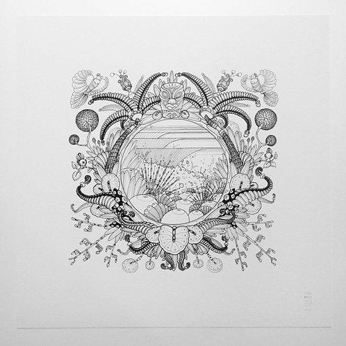 GICLEE FINE ART PRINT ' ❤ NZ '