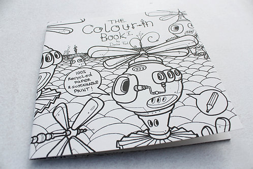 The Colour-in Book I. by Denise Fort