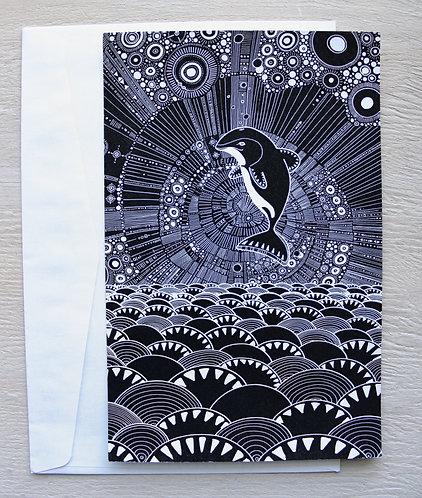 Maui Dolphin Postcard