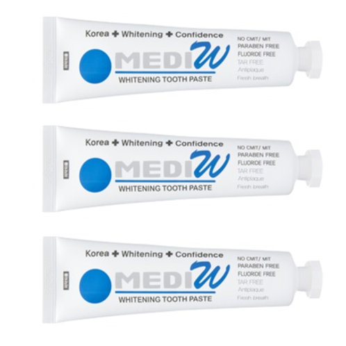 MEDIW Whitening Toothpaste - (110g x 3 pcs pack)