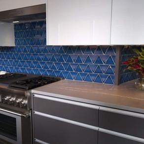 Bedrosians Triangolo Electric Blue  Builder- WL Construction