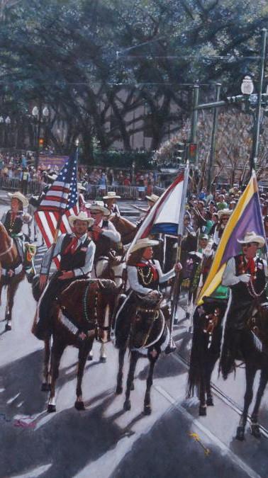 Crowd Paintings