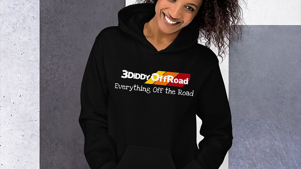 3DiDDy OffRoad - Everything Off the Road (Black) Hoodie