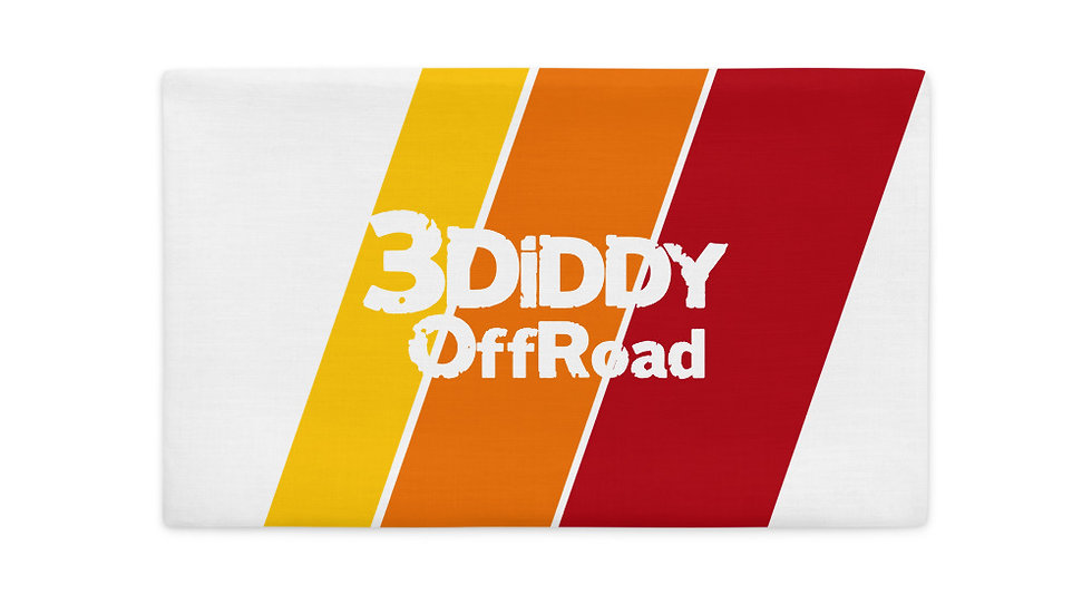 3DiDDy OffRoad Buffalo Premium Pillow Case