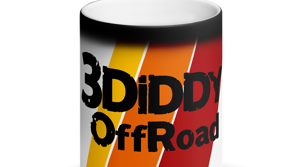 3DiDDy OffRoad Team Matte Black Magic Mug