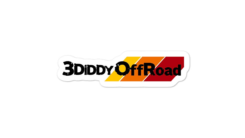 3DiDDy OffRoad Team Bubble-free stickers