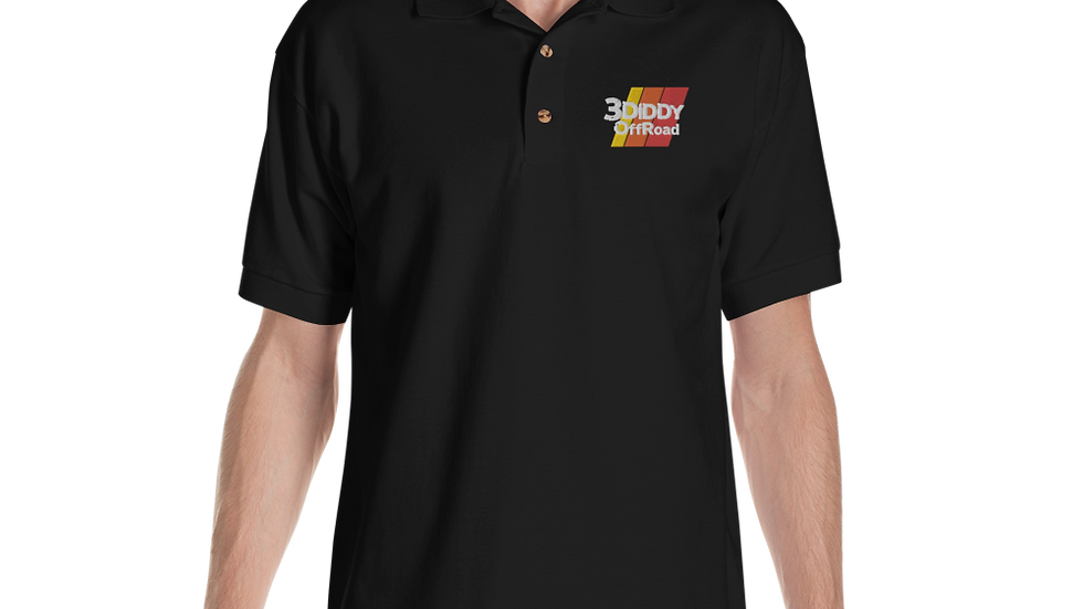 3DiDDy OffRoad Professional Embroidered Polo Shirt